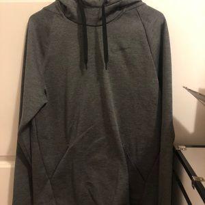 oversized XL dark grey nike hoodie